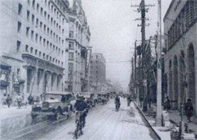 昭和時代の船場の様子